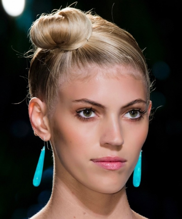 Off-Center Top Knot