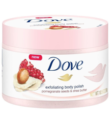 Dove Exfoliating Body Polish Pomegranate Seeds Shea Butter