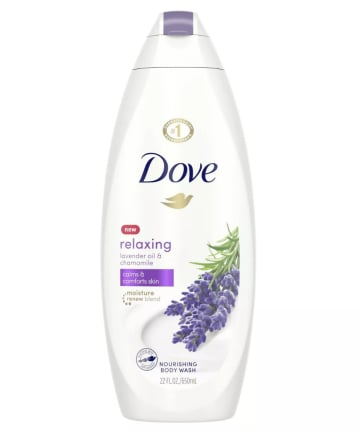 Dove Relaxing Body Wash with Lavender and Chamomile, $5.99