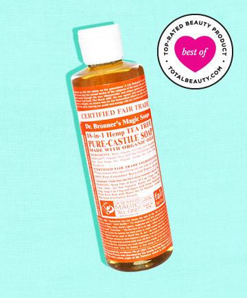 No. 2: Dr. Bronner's Tea Tree Liquid Soap, $6.39