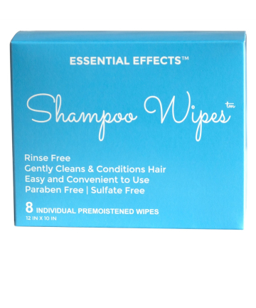 Essential Effects Shampoo Wipes, $18.95