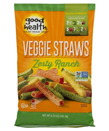 Good Health Veggie Straws Zesty Ranch, $2.99