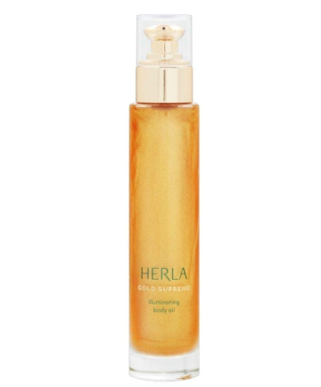 Herla Gold Supreme Illuminating Body Oil, $50
