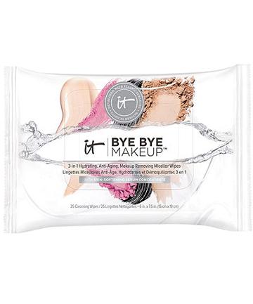 It Cosmetics Bye Bye Makeup 3-in-1 Wipes, $14