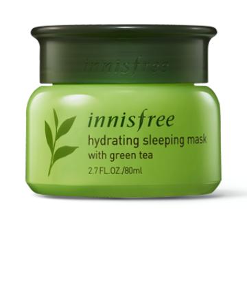 Innisfree Hydrating Sleeping Mask with Green Tea, $16 64, 13 Korean