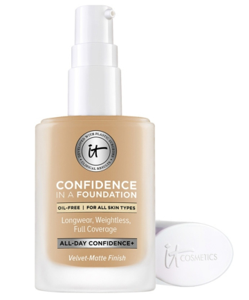 It Cosmetics Confidence in a Foundation, $32