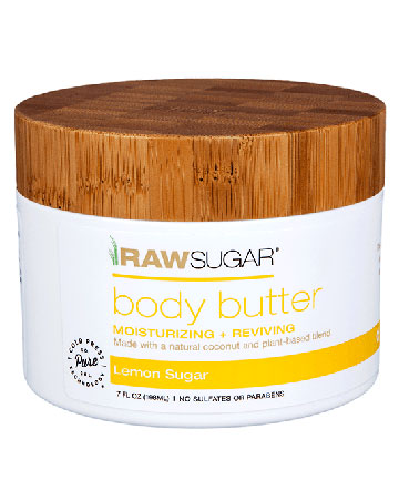 Raw Sugar Coconut + Mango Body Butter, $9.99