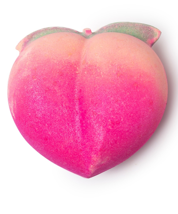 Lush Peachy Bath Bomb, $6.95