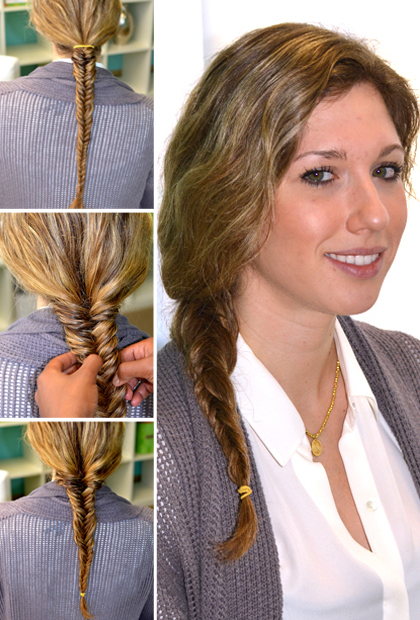 Fishtail Braid Step 5: Finish Your Look