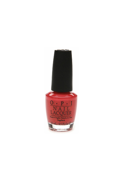 OPI Nail Color in I Eat Mainely Lobster