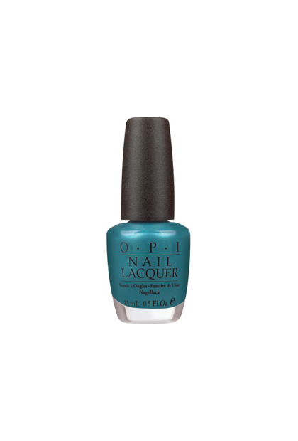 OPI Nail Color in Teal The Cows Come Home