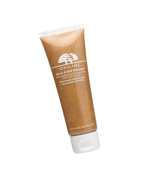 No. 5: Origins Never a Dull Moment Skin-Brightening Face Polisher, $27