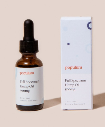 Populum Full-Spectrum Hemp CBD Oil, $79.20