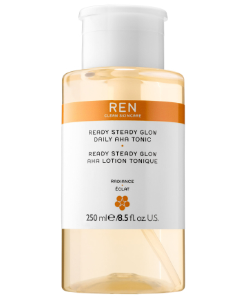 Best for natural-beauty lovers: Ren Ready Steady Glow Daily AHA Tonic, $35