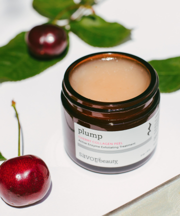Savor Beauty Cherry Collagen Peel, $80
