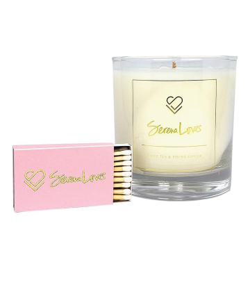 Serena Loves Raise Your Vibrations Candle, $45