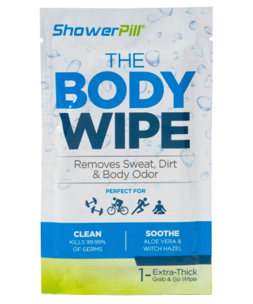 ShowerPill The Body Wipe, $9.99