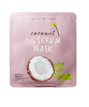 Too Cool for School Coconut Oil Serum Mask, $6