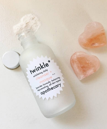 Twinkle Apothecary Powder Cleanser + Masque, $10