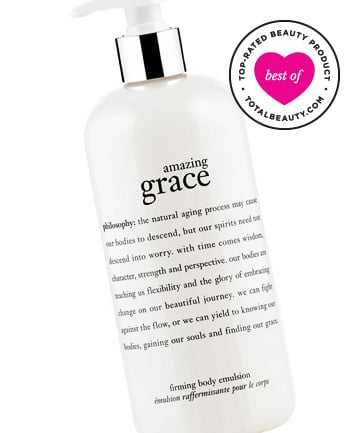 Best Body Firming Product No. 2: Philosophy Amazing Grace Perfumed Firming Body Emulsion, $23