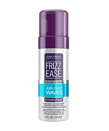 John Freida Frizz Ease Dream Curls Air Dry Waves Styling Foam, $9.99