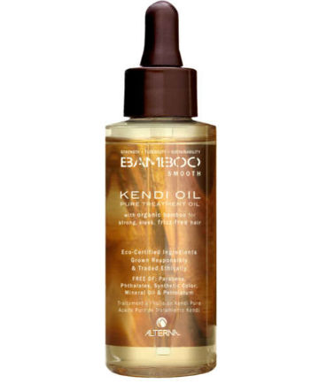 Best Split End Treatment No. 12: Alterna Bamboo Smooth Pure Kendi Oil Treatment Oil, $25