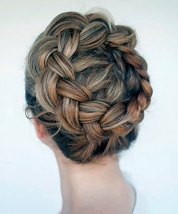 The Angelic Crown Braid