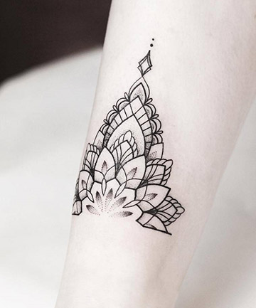 36ef843a3 Anklet Half Mandala, 17 Mandala Tattoos That Bring Out Your Inner ...