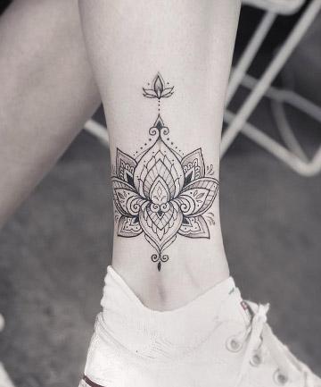 shaded lotus mandala tattoo 17 mandala tattoos that bring