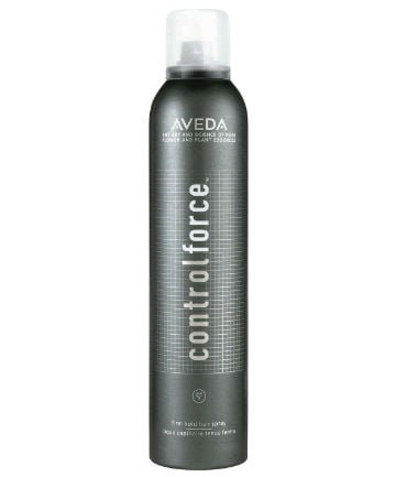 Best Hairspray No. 3: Aveda Control Force Firm Hold Hairspray, $31