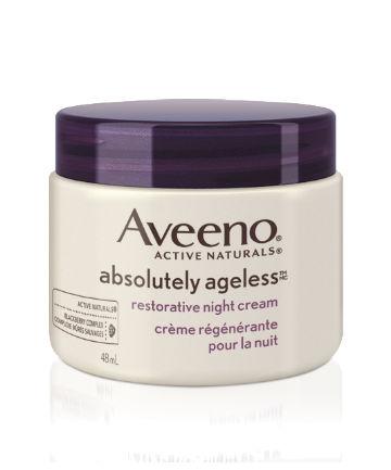 Best Night Cream No. 17: Aveeno Absolutely Ageless Restorative Night Cream, $21.99