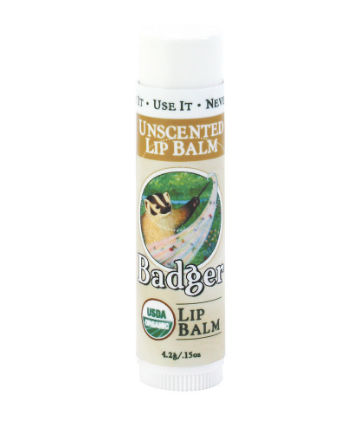 Best Lip Balm No. 11: Badger Classic Organic Lip Balms, $2.99