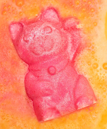 The Perfect Bath Bomb: Lush Lucky Cat, $5.95