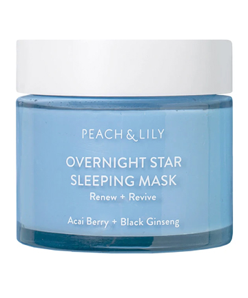 Peach and Lily Overnight Star Sleeping Mask, $43