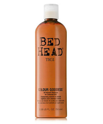 Best Color Protecting Shampoo No. 5: TIGI Bed Head Colour Goddess Oil-Infused Shampoo, $28.99