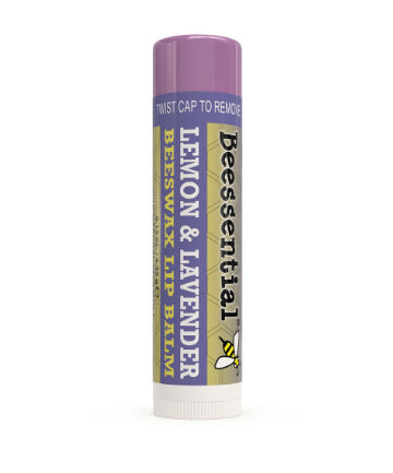 Best Lip Balm No. 6: Beessential Lemon Lavender Lip Balm, $3.29