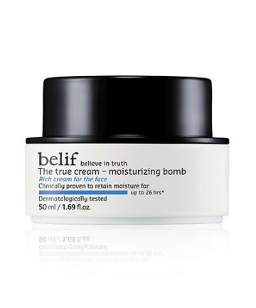 Best Face Moisturizer No. 1: Belif The True Cream Moisturizing Bomb, $38