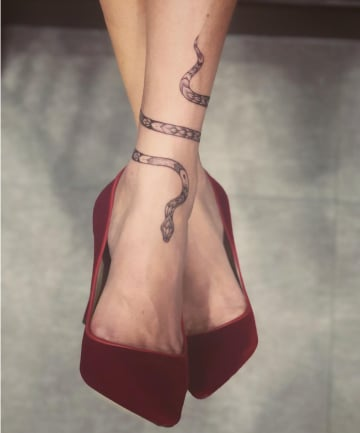 dff382817344 21 Ankle Tattoos You Haven t Seen a Million Times Before