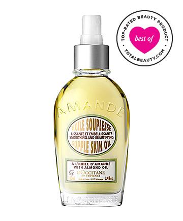 No. 4: L'Occitane Almond Supple Skin Oil, $42