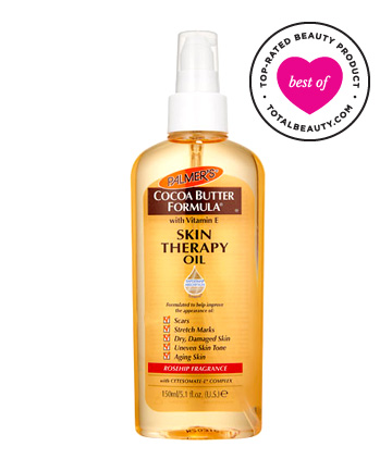 Best Body Oil No. 1:  Palmer's Cocoa Butter Formula Skin Therapy Oil, $10.95