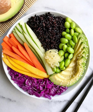 Black Rice Sushi Lunch Bowl