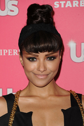 Kat graham s tall bun best for thick hair is important to achieve a