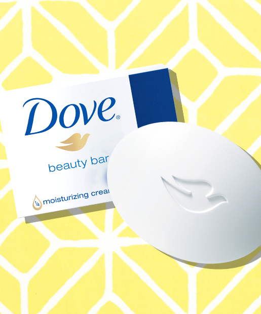 No. 1: Dove White Beauty Bar, $1.67