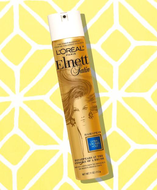 No. 11: L'Oreal Paris Elnett Satin Hairspray, $14.99