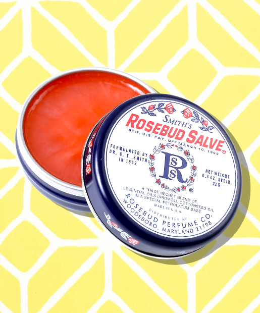 No. 4: Smith's Rosebud Salve, $6