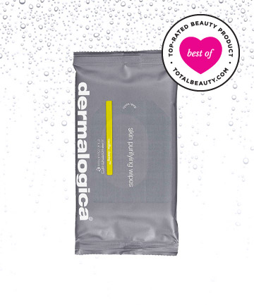 Best Face Cleansing Towelette No. 3: Dermalogica Skin Purifying Wipes, $19