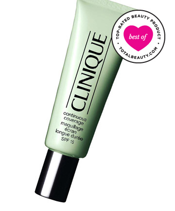 Best Concealer No. 10: Clinique Continuous Coverage SPF 15, $25