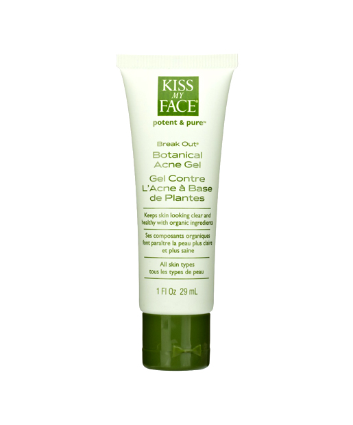 No. 10:  Kiss My Face Break Out - (Botanical Acne Gel) , $16.99