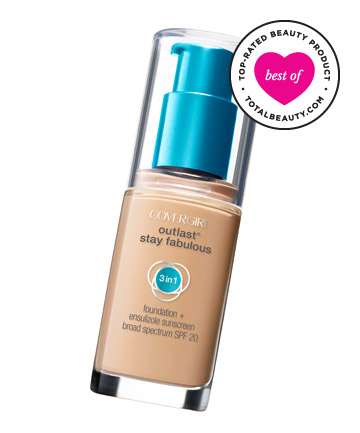 Best Drugstore Foundation No. 6: CoverGirl Outlast Stay Fabulous 3-in-1 Foundation, $11.29