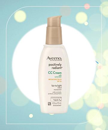 Aveeno Positively Radiant CC Cream, $13.59